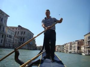 Veneza, gondola